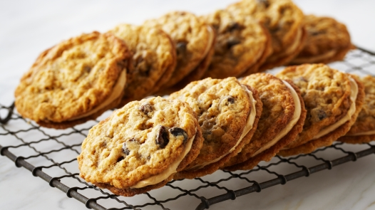 Oatmeal Sandwich Raisin cookies